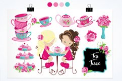 Tea Time graphics and illustrations Product Image 2