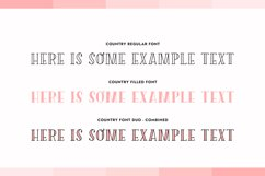 Country Font Duo Product Image 5
