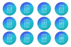 Set Of Mobile Apps Icons Product Image 1