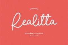 Web Font - Realitta Product Image 1