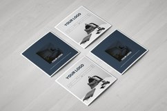 Gradient Square Trifold Template Product Image 3