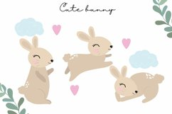 Easter clipart, easter bunny PNG, easter eggs, easter PNG Product Image 2