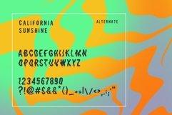 California Sunshine Typeface Product Image 5