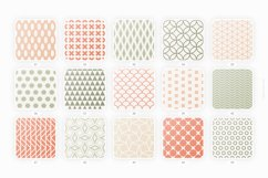 Retro geometric seamless patterns collection Product Image 5