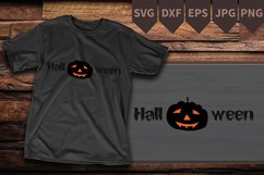 Halloween Pumpkin SVG , carved pumpkin, Halloween Shirt Product Image 2