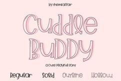 Cuddle Buddy A cute playful Font Product Image 1