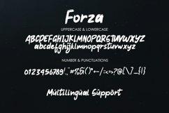 Forza - Brush Typeface Font Product Image 4