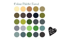 Colour Swatches for AI, PS and Procreate Product Image 3