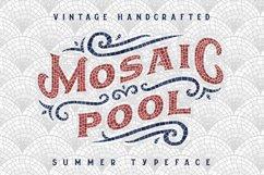 Mosaic Pool Typeface Product Image 1