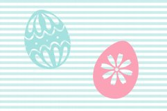 Decorated Easter Egg SVG and Cut File Set Product Image 4