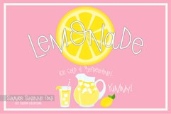 Summer Sunshine Hand Lettered Font Product Image 2
