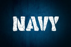 Military Stencil Font Product Image 4