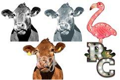 Cow Clipart Bundle Product Image 1