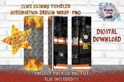 20oz  Fireman  Sublimation Tumbler Wrap   Design Bundle Product Image 6