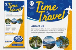 Holiday Travel #01 Print Templates Pack Product Image 4