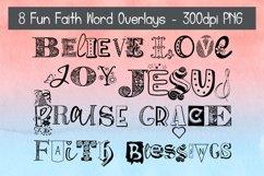 Fun Faith Word Overlays Bundle #1 Product Image 1