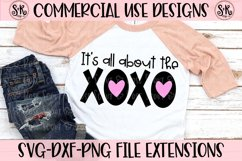 All About The XOXO SVG DXF PNG Product Image 1