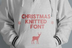 Christmas Knitted Font v4 Product Image 3