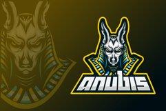 Anubis esport mascot logo design Product Image 1