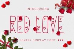 Web Font Redlove Font Product Image 1
