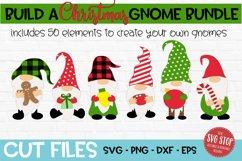Build a Christmas Gnome Bundle SVG, PNG, DXF, EPS Product Image 1
