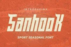 Web Font Sanhook Font Product Image 1
