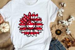 4 Sunflower SVG Bundle 4th of July SVG PNG DXF EPS JPG Files Product Image 3