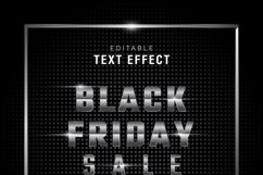 5 Black Friday Text Effect Silver Gold Illustrator Product Image 6