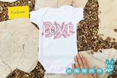 Love svg, word LOVE svg design Product Image 4