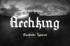 Archking - Blackletter Typeface Product Image 1