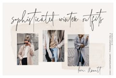 The Styled Edit- Chic Ligature Font Product Image 6