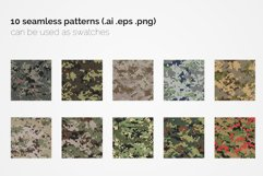 German Pixel Camouflage Patterns Product Image 2