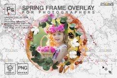 Spring flower digital frames overlay Easter Product Image 4