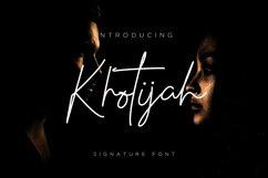 Khotijah Font script Product Image 1