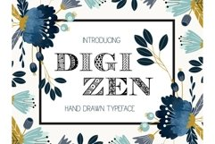 Digizen Font Product Image 1