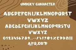 Web Font Unlucky - Display Bold Font Product Image 6