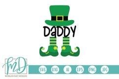 Daddy Leprechaun - St Patrick's Day SVG Product Image 1