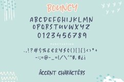 BOUNCY Lovely Cute Handwritten Font Product Image 6