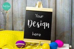 Chalkboard Sign Mock-Up I Easter Product Image 1