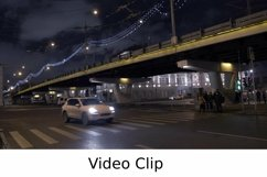 Video: Pedestrians crossing the road on green light Product Image 1
