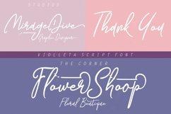 Web Font Violleta Script Product Image 3