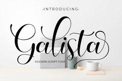 Galista - Modern Script Product Image 1