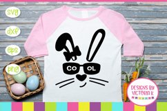 Easter, Hip Hop Bunny, Cool Bunny, SVG, DXF, PNG Product Image 2