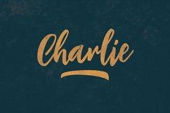 Charlie Script Font Product Image 4