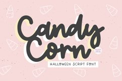CANDY CORN Halloween Script Font Product Image 1