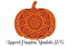 Thanksgiving Mandala SVG Bundle - 3D Layered Mandalas Product Image 6