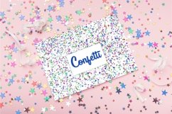 12 Colorful Confetti Backgrounds png, jpg Product Image 3