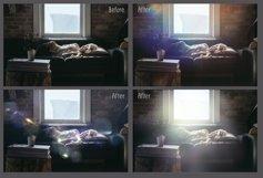 60 Light Bokeh Overlays Product Image 4