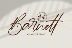 Barnett - Signature Font Product Image 1