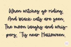 CANDY CORN Halloween Script Font Product Image 2